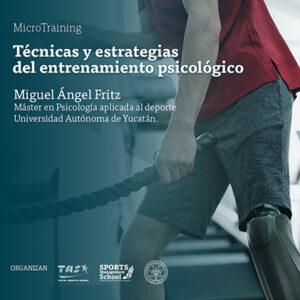 Técnicas y estrategias del entrenamiento psicológico