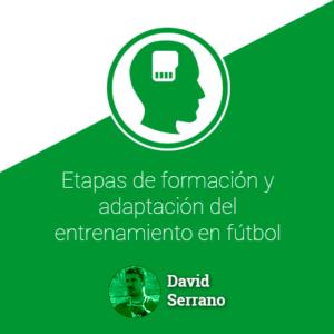 Etapas de formación y adaptación del entrenamiento en fútbol