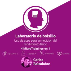 Laboratorio de bolsillo: uso de apps para la medición del rendimiento físico