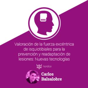 Valoración de la fuerza excéntrica de isquiotibiales para la prevención y readaptación de lesiones